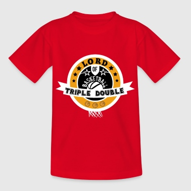 Basketball Shirt · Triple Double · Lord Gift - Kids' T-Shirt