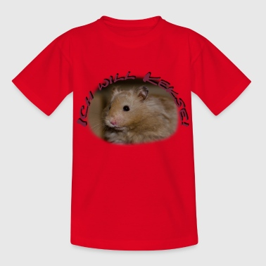 Hamster Ted - Kids' T-Shirt