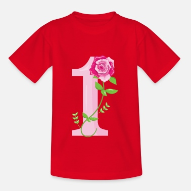 Number 1 NUMBERS - Kids' T-Shirt