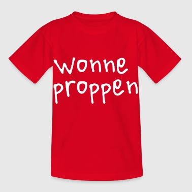 Wonneproppen gift for newborns. handwriting - Kids' T-Shirt