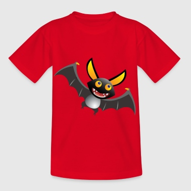 Vampire bat Dracula - Kids' T-Shirt
