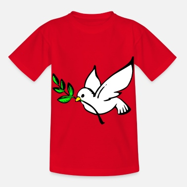 dove of peace - Kids' T-Shirt