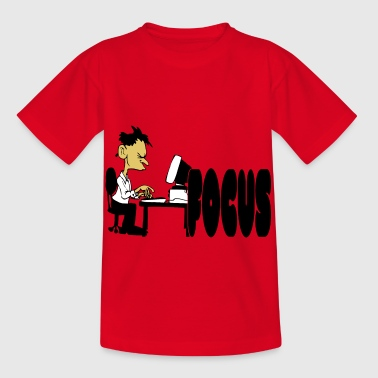 Office workaholic - Kinderen T-shirt