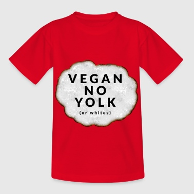 Vegan No Yolk - Kids' T-Shirt
