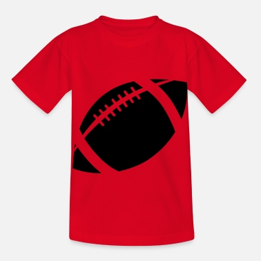 Wappen football - Kinder T-Shirt