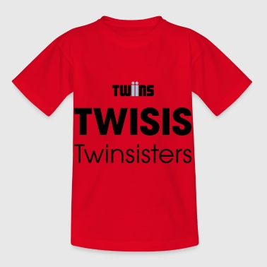 twin sisters - Kids' T-Shirt