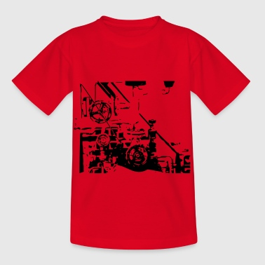 mechanica - Kinderen T-shirt
