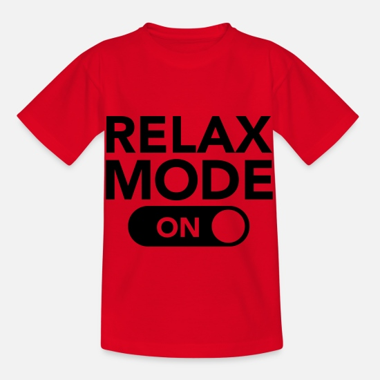 Mode T-shirts - Relax Mode (On) - T-shirt Enfant rouge