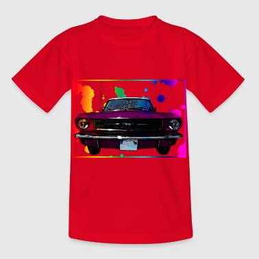 Colorfull Zuhälter Auto - Kinder T-Shirt