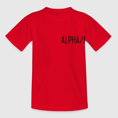 alpha - Kids' T-Shirt