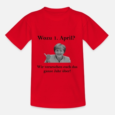Mutti Merkel - Kinder T-Shirt