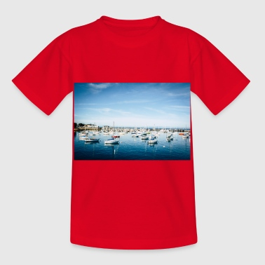 Le port de Monterey - T-shirt Enfant