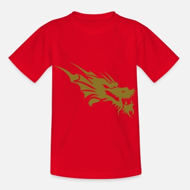 Christ dragon tattoo - Kids' T-Shirt