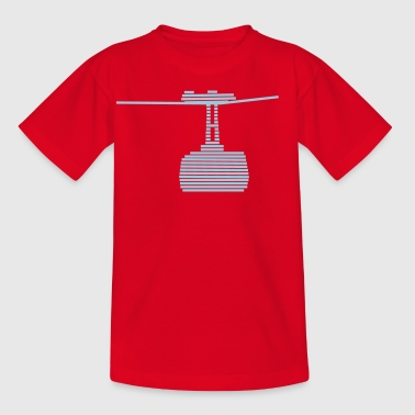 cable car - Kids' T-Shirt