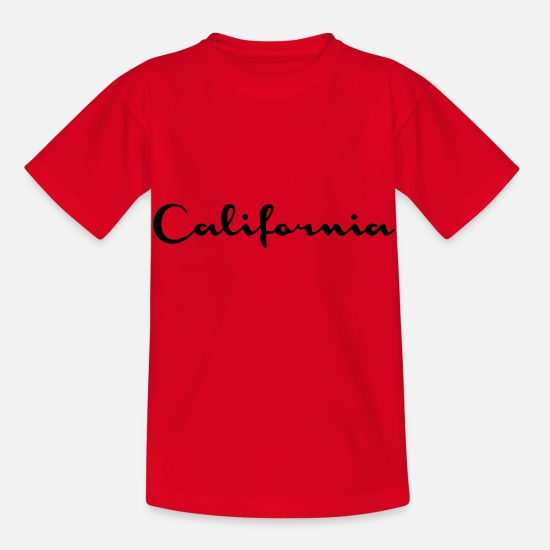 Gta T-Shirts - California - Kids' T-Shirt red