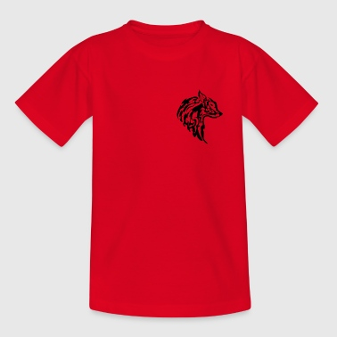 Wolf Tribal - Kids' T-Shirt