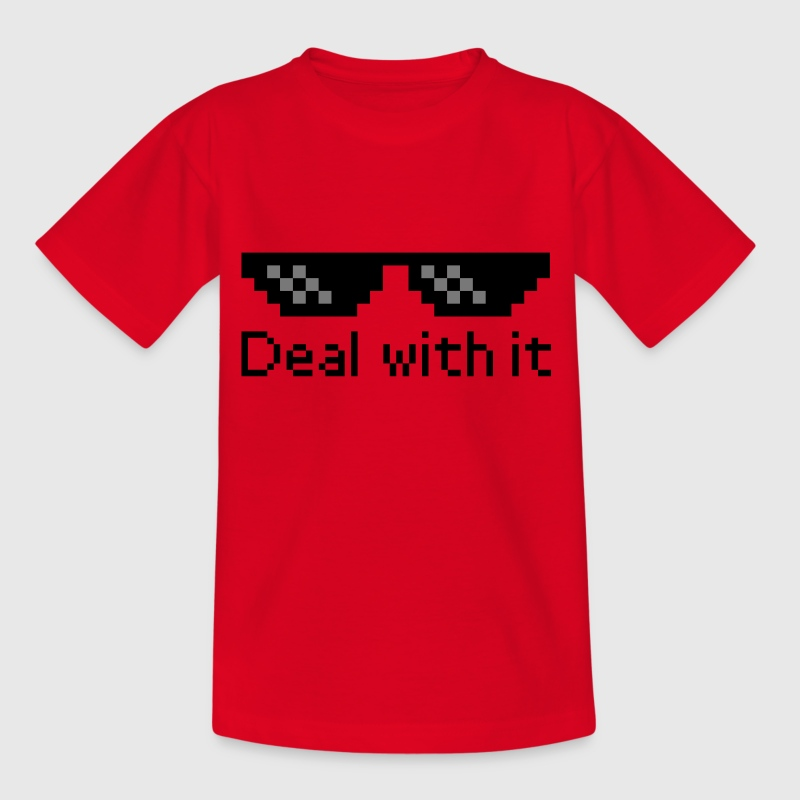 Deal With It - Kids' T-Shirt