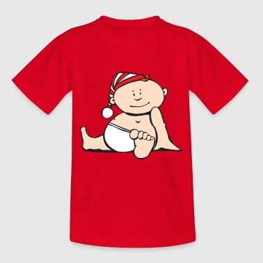 babe red white cap - Kids' T-Shirt