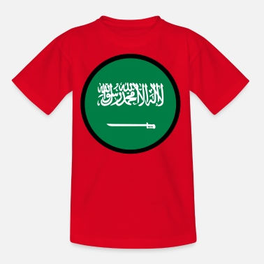 Jeddah Under The Sign Of Saudi Arabia - Kids' T-Shirt