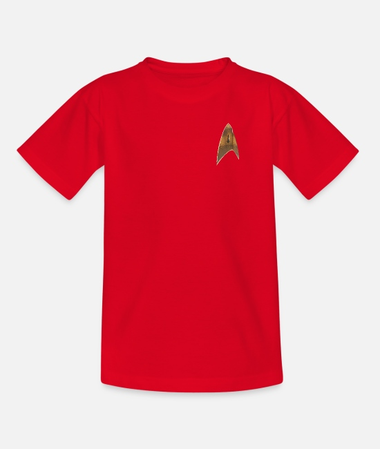 Starfleet T-shirts - Star Trek Discovery Delta Commando - T-shirt Enfant rouge