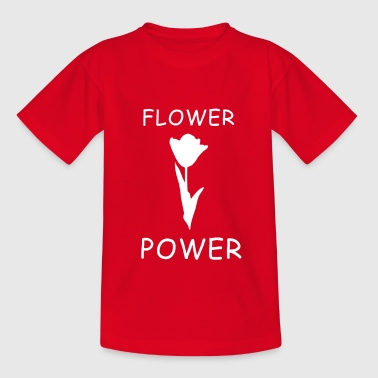 Flower Flower Power Design - Camiseta niño