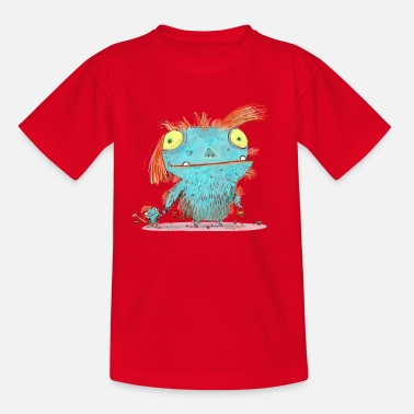 Monster Das Monster Mamma t-shirt - Kinder T-Shirt