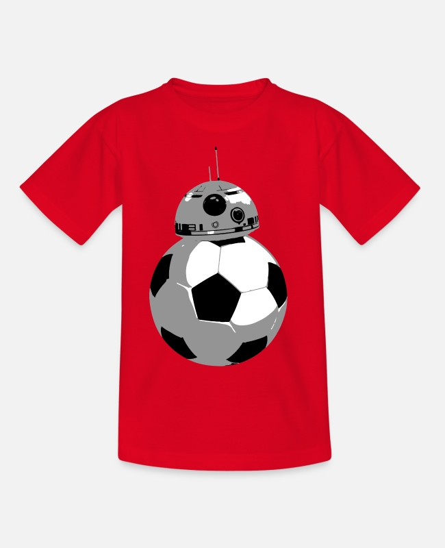 Father's Day T-Shirts - BB Football - Kids' T-Shirt red
