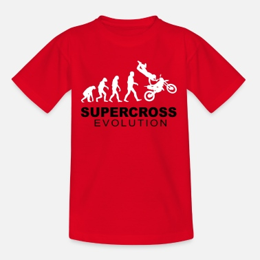 Supercross Evolution - Camiseta niño