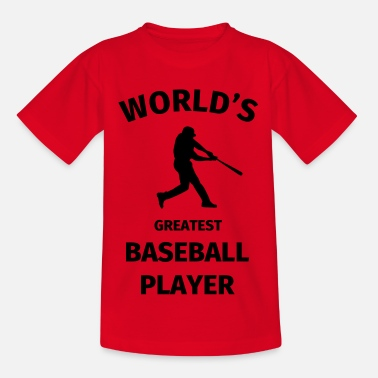 World's Greatest Baseball Player - Camiseta niño