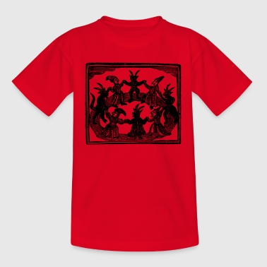 Witches Circle Dance - Kinder T-Shirt