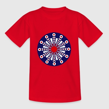 Mod Clock - Kinder T-Shirt