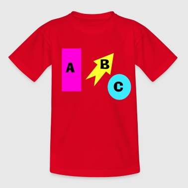 Kinder ABC - Kinder T-Shirt
