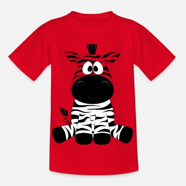 Zebra Zebra motif for kids - Kids' T-Shirt