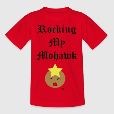 Rocking mein Mohawk - Kinder T-Shirt