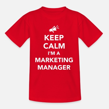 Marketing Manager Marketing Manager - Kinder T-Shirt