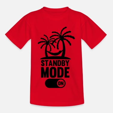 Chill standby_mode_on_f1 - Kids' T-Shirt