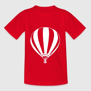 Heißluftballon - Kinder T-Shirt
