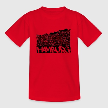 Hamburgo Music Hall - Negro - Camiseta niño