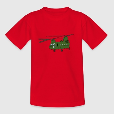 helicopter - Kids' T-Shirt