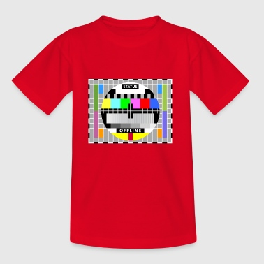 Testbild Display screen test card offline Big Bang - Kinder T-Shirt