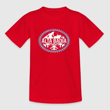 ALTA BADIA Winter Berge - Kinder T-Shirt