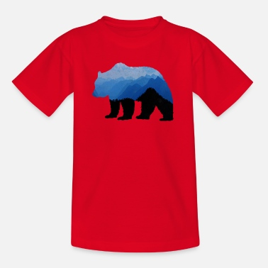 National Park Bear - Kids' T-Shirt