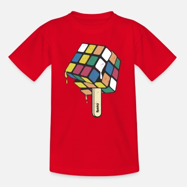 Rubik's Cube Ice Lolly - Kids' T-Shirt