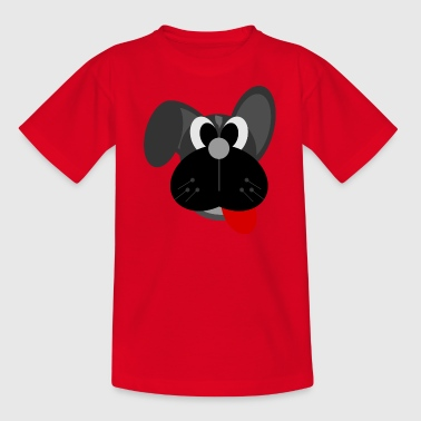 hond cartoon - Kinderen T-shirt