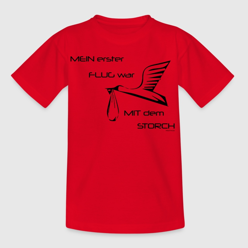 Baby Storch - Kinder T-Shirt