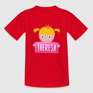 Little Princess Theresa - Kids' T-Shirt