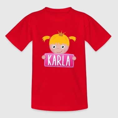 Little Princess Karla - Kinderen T-shirt