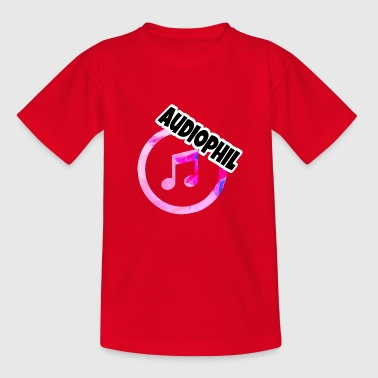 Audiophile - Kids' T-Shirt