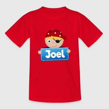 Little Pirate Joel - T-shirt barn