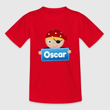 Lite Pirate Oscar - T-skjorte for barn